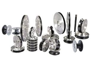 各类机器喷陶瓷导线轮