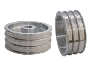 Sintered Tungsten Carbide on the Surface of Tower Wheel of Multi-head Wire Drawing Machine